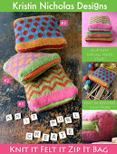 Knit It Felt It Zip It Bag