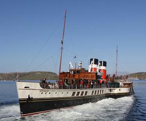 Quelques vapeurs européens ( paddle steamer ) . Le PS Waverley .
