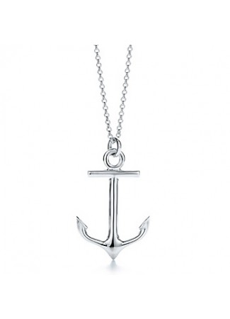 Tiffany Anchor Necklace2