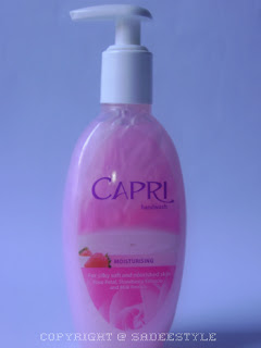 Capri Moisturizing Hand Wash in Pink