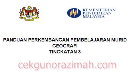 PPPM Geografi Tingkatan 3