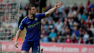 James Milner: Liverpool close on deal for Manchester City midfielder