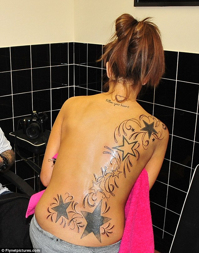 lacey tattoos Stacey