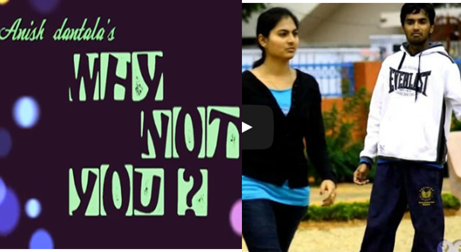WHY NOT YOU TELUGU SHORT FILM poster