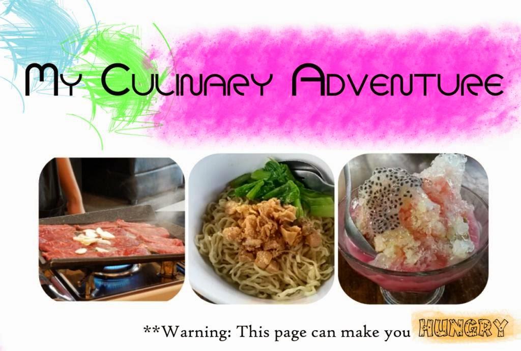 My Culinary Adventure