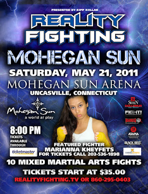 Marianna Kheyfets Reality Fighting Poster