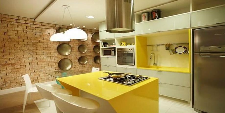 decoracao tijolo branco : decoracao tijolo branco:Claro Design: Amarelo: a sua aplicação na decoração!