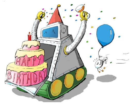 Bon anniversaire Alain ! Logo2013