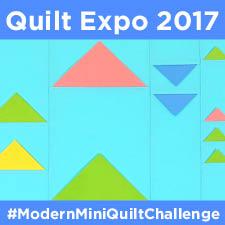 Modern Mini Quilt Challenge 2017