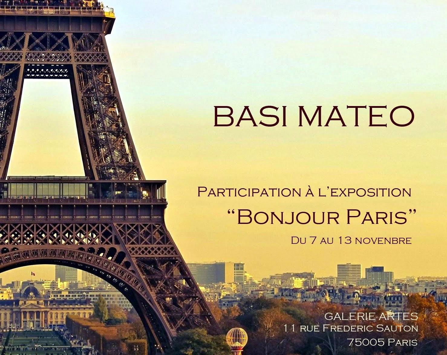EXPOSICION BONJOUR PARIS