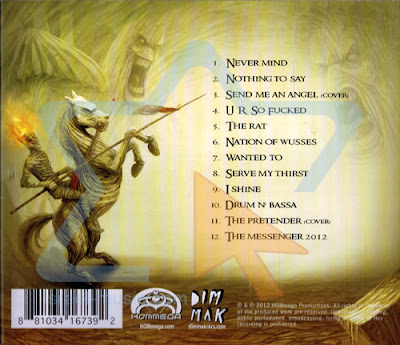Infected Mushroom - Army of Mushrooms album back cover