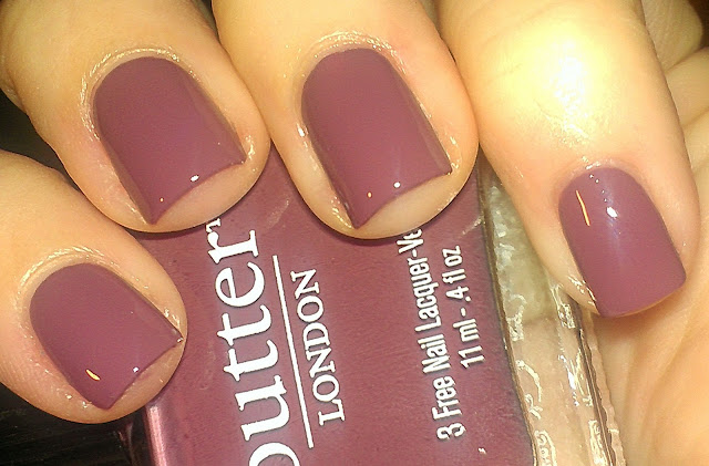 butter london toff, mauve