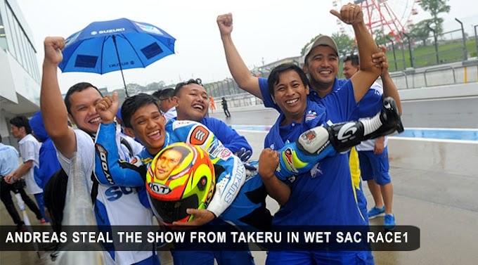 Hasil Suzuki Asian Challenge Suzuka - Andreas Konsisten Podium