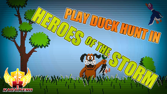 Play Duck Hunt In Heroes Of The Storm