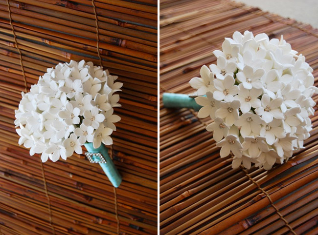 adrian and jana: wedding trends: non-floral bouquets