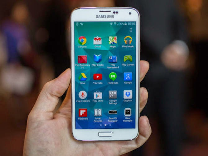 أسهل طريقة عمل روت لهاتف سامسونج جلاكسي اس5 ميني Samsung Galaxy S5 Mini Samsung-galaxy-s5-mwc-2014_610x458