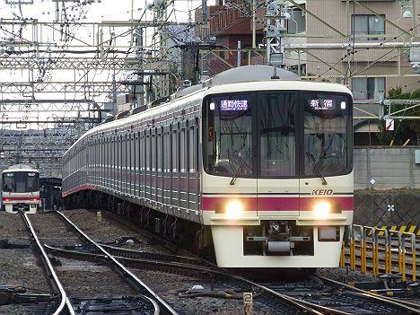 通勤快速 新宿行き7 8000系新LED