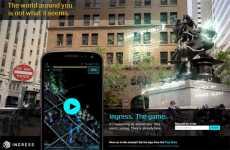 Juego de Google de realidad aumentada y geoposicionamiento: Ingress para Android.