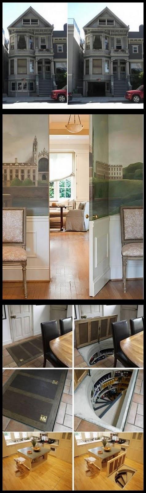 ruangan dengan pintu rahasia