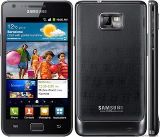 Samsung Galaxy S II I9100 Spesifikasi