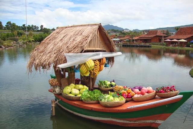 Wisata Pasar Terapung ala Bandung