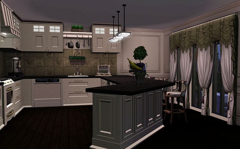 Simplicity ts3 new york townhouses for Sims 2 kitchen ideas