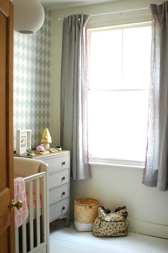 Patchwork Harmony: Our baby's nursery