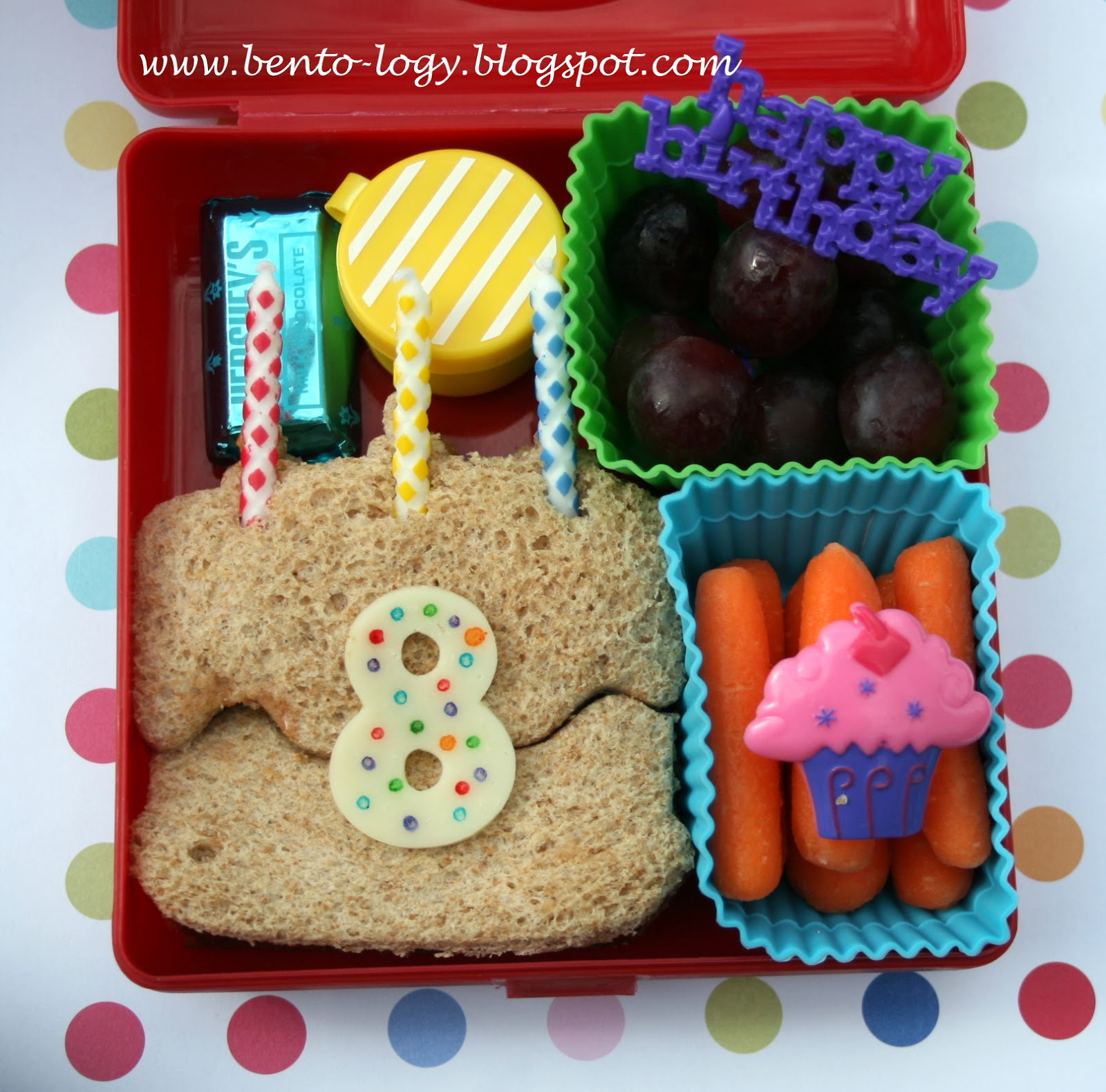 Bento-logy: It's A Birthday Kind Of Lunch