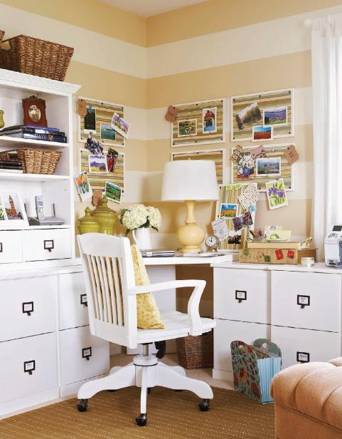 desk organizer and office makeover decorating ideas for your home