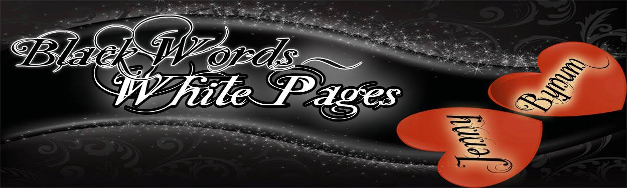 Black Words-White Pages