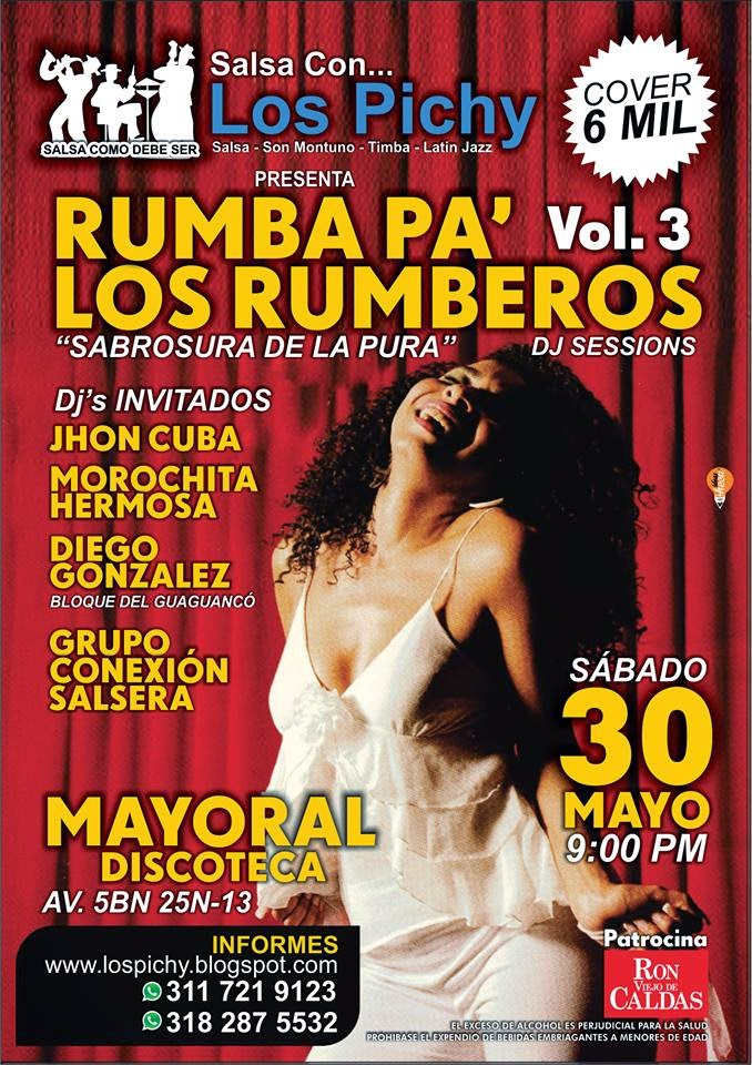 Rumba  Pa´ Los Rumberos Djs Session VOL 3 De Salsa Con Los Pichy!!!