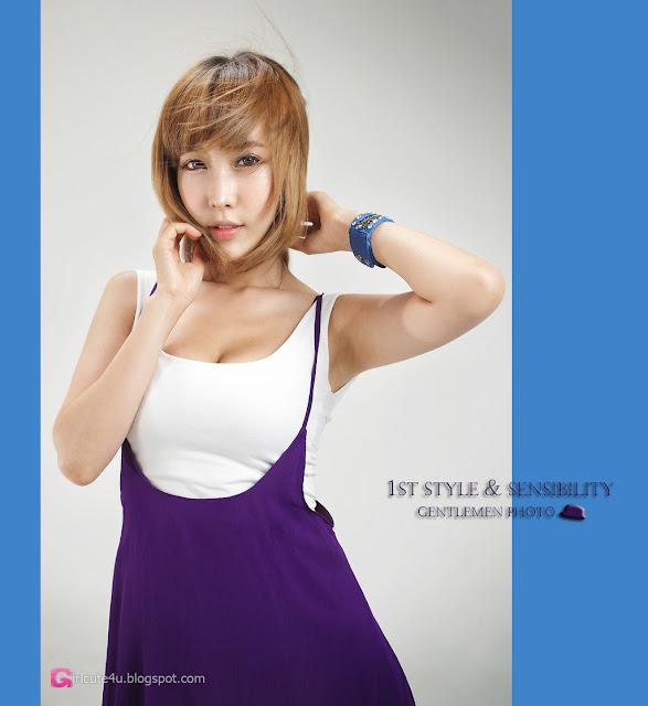 1 Im Min Young - White and Purple-Very cute asian girl - girlcute4u.blogspot.com