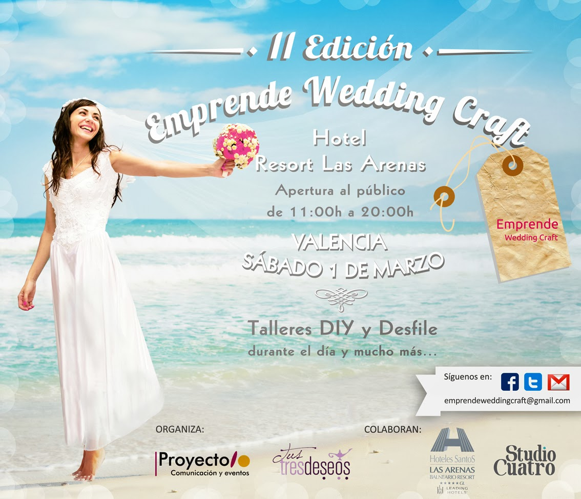 II Edición de Wedding Craft en Valencia.