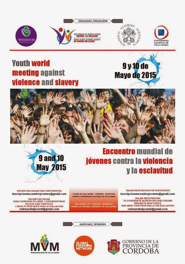 Encuentro Mundial de Jóvenes contra la violencia y la esclavitud