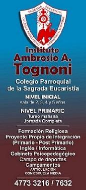 Banner  Colegio Tognoni