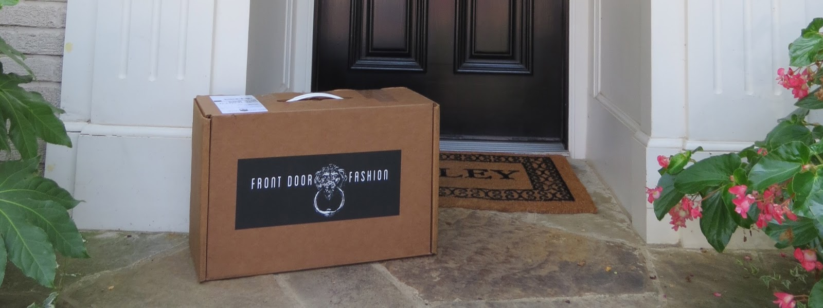 Doorstep Delivery from Front Door Fashion ~ Oh So Cynthia