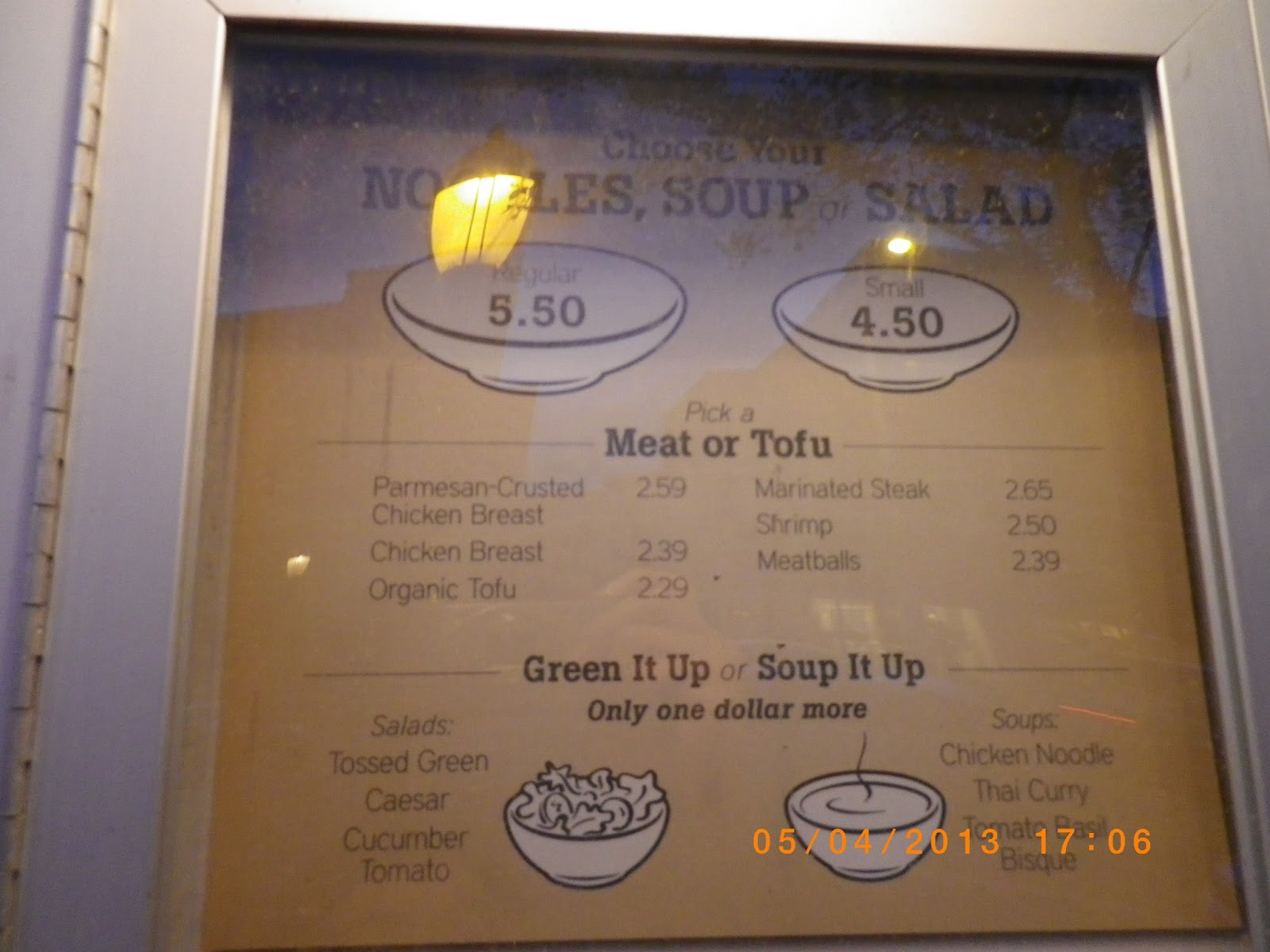 vc menu  chinese noodle company
