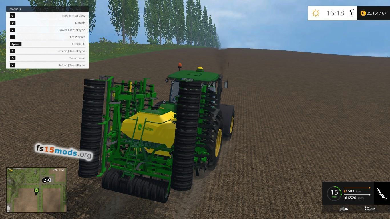 fs15 sowing machine