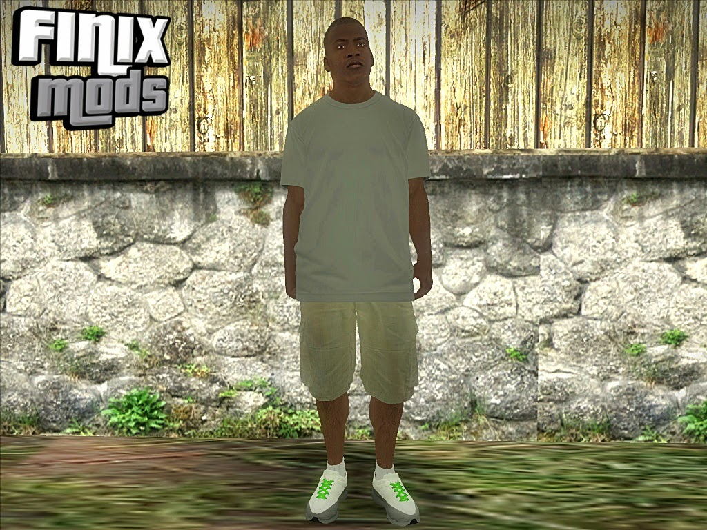 Skin Do Franklin do GTA V ''Original''