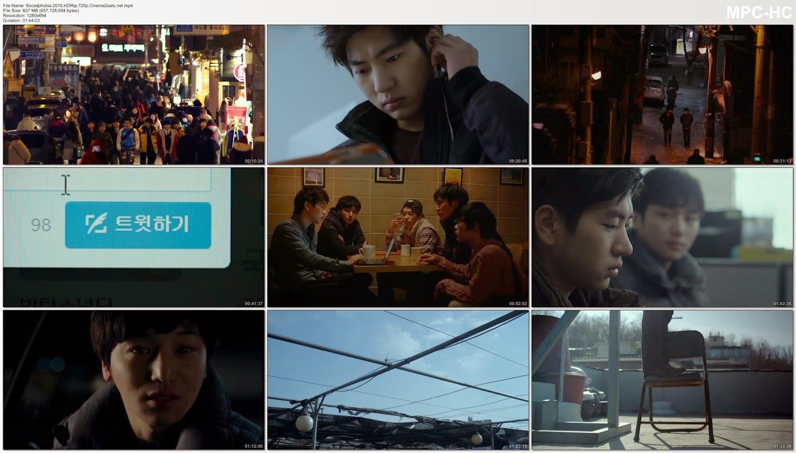 Socialphobia 2015 HDRip 720p 625MB