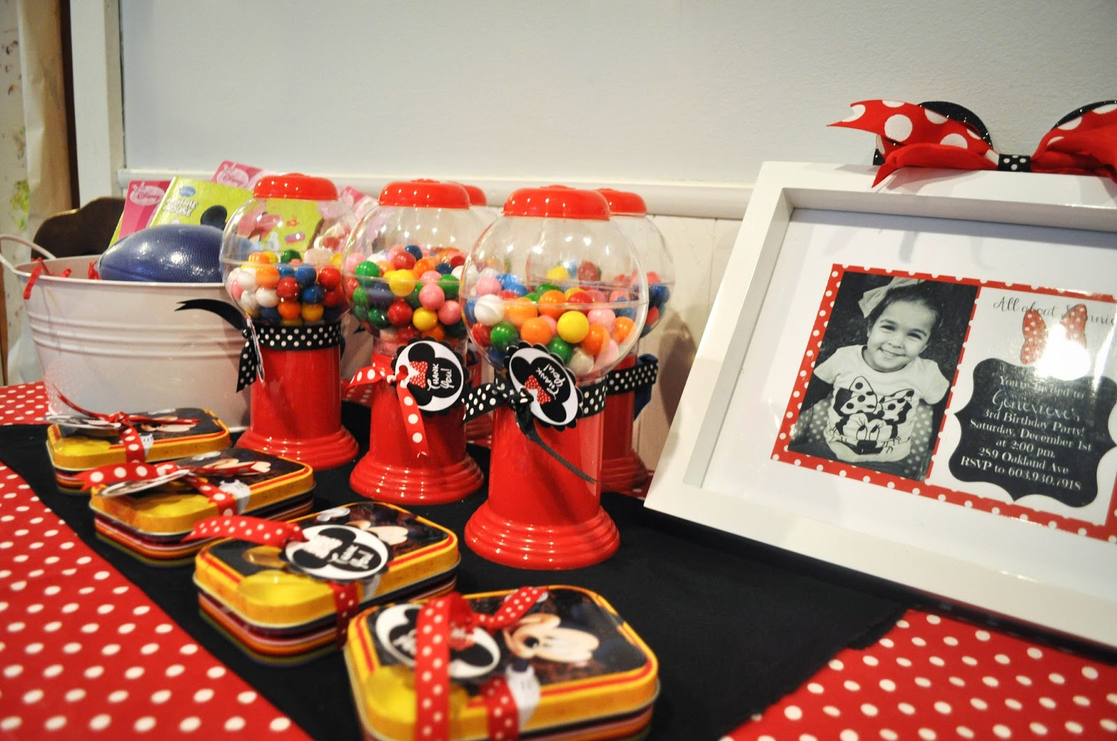 Mickey Mouse Birthday Party Favors  sc 1 st  Pretty Real & Modern Minnie Mouse Party: Decor + Favors. - Pretty Real