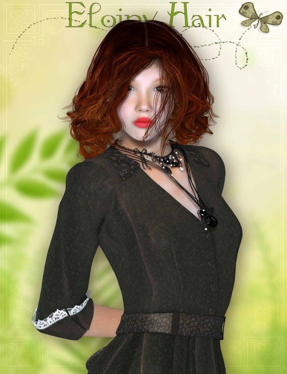 Eloiny cheveux PLUS pour Victoria 4 et Genesis 2 Femme