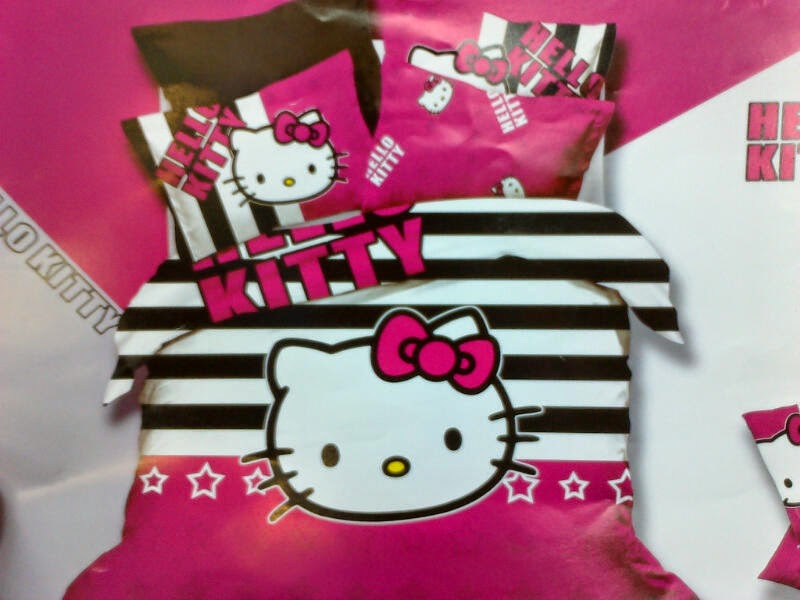 Sprei Anak Motif Hello Kitty Salur