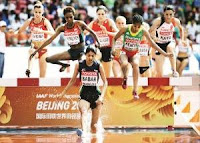 Lalita Babar in World athletics