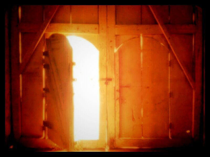 Philippines, lazi, church, siquijor, entrance door