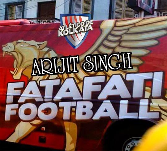 Fatafati Football Lyrics, Atletico De Kolkata, rijit Singh, Image, Photo, Picture