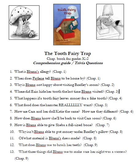 Tooth Fairy Trap Trivia Questions