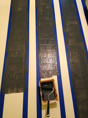 DIY How to Paint Vinyl Floors