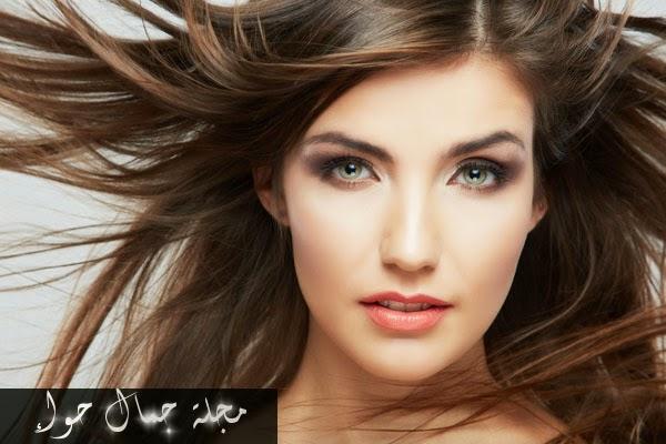 ماسك طبيعي ومجرب لتفتيح لون الشعر البني