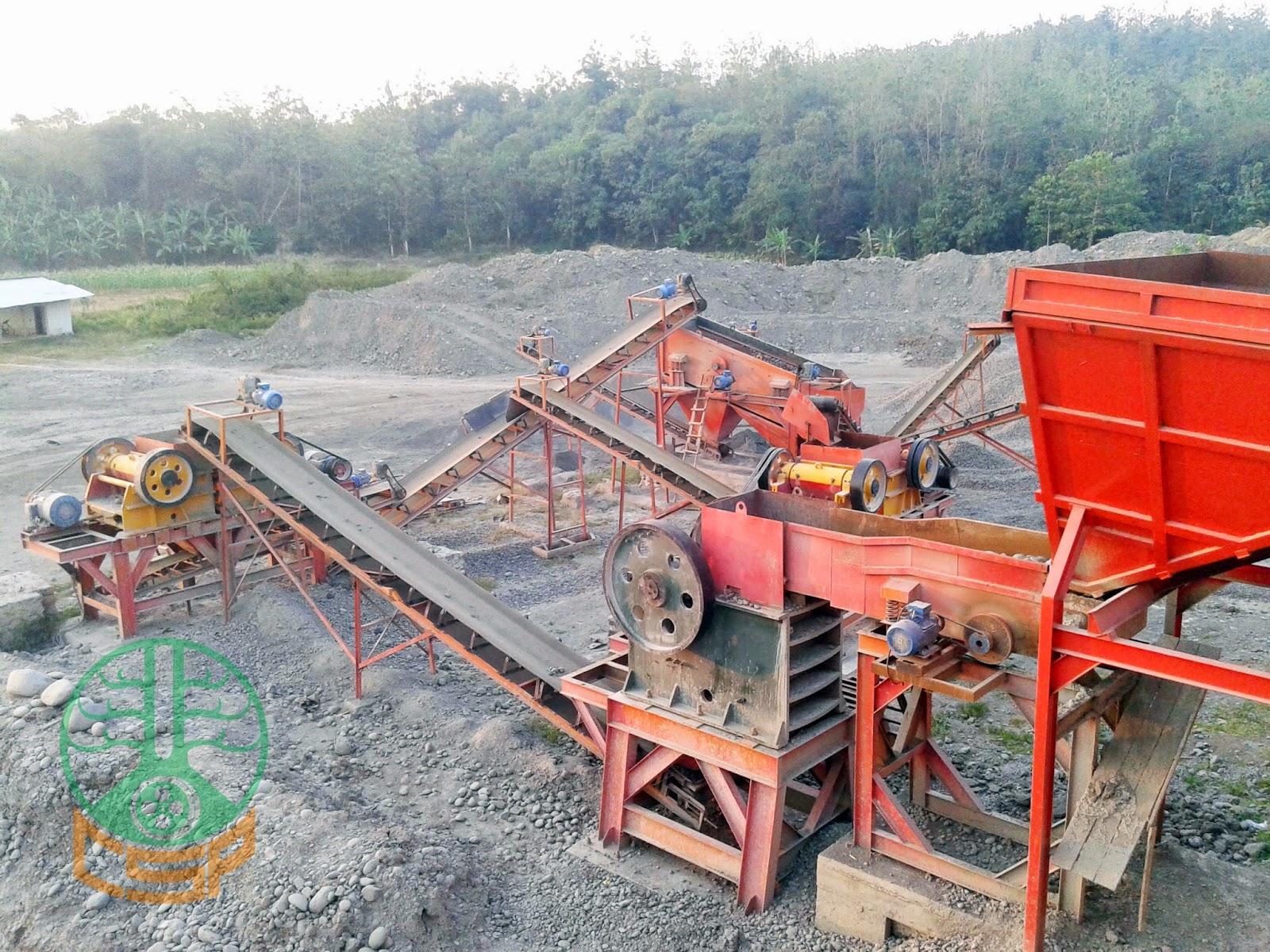 Project CSP Stone Crushing Plant 100 Tph, PT CTA Subang (01)